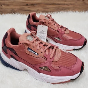 NEW Adidas Falcon Raw Pink Sneakers